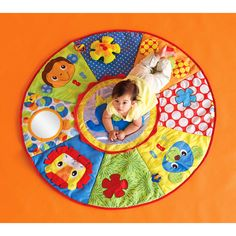 Easter Basket Inspiration!  Infantino - Jumbo Wheel Play Space Playmat LOVE