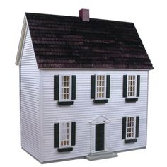Real Good Toys Colonial Dollhouse Kit - 1/2 Inch Scale - H-72