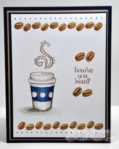 Fiskars....Latte Love....Clear Stamps