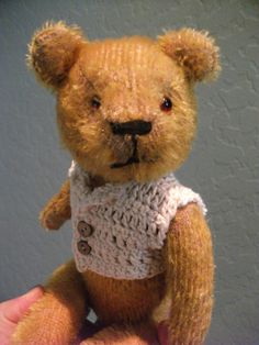 Antique stick bear from 1920s or 1930s