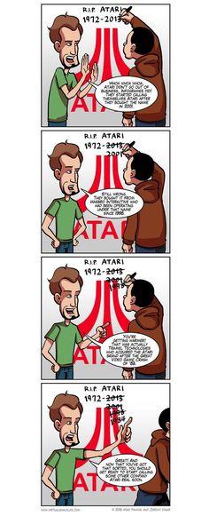 R.I.P. Atari? [Comic]