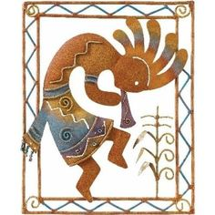 Kokopelli, a fertility god. It has always amused me the number of people who don't realize this.
