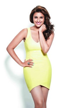 """""""Movies don't require you to be skinny; you just need to look good,"""" says Parineeti Chopra in the WH July-August 2014 cover story #bollywood #parineetichopra"""