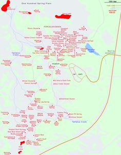 Map and Tour of Upper Geyser Basin, Yellowstone National Park ...