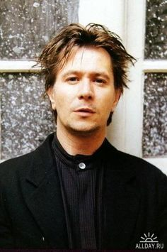 gary oldman. Handsome, crazy, and genius.