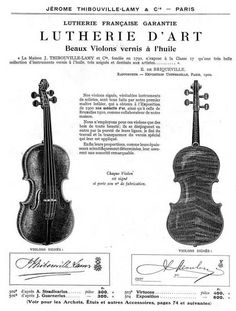 An excellent JTL violin showing beautiful workmanship to rival an HC Silvestre, and rather better than a Collin-Mézin of the period.