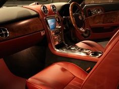 David Brown gt speedback. Bespoke interior