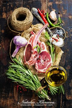 Photograph Raw lamb cutlets by Natalia Klenova on 500px