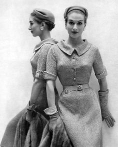 1950's. I love this look. I actually love the 40 s look more.