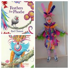 """My daughters """"character"""" costume for Book Week (Prep-2012) Feathers for Phoebe by Rod Clement"""