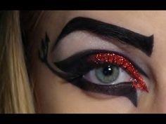 HALLOWEEN - She Devil - Makeup Tutorial. More #carnivalmakeup