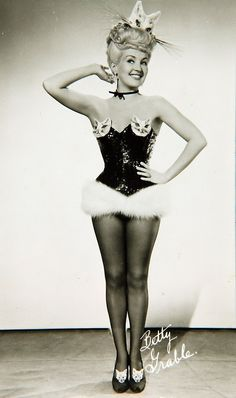 I assume Betty had no editorial control over her costumes...