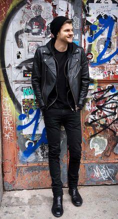 Jim Chapman - All black amazing look // SHADOW - BBYD
