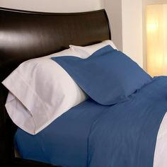Design Weave Outlast Temperature Regulating Pillowcases Midnight Blue - SA-300PCS-MID