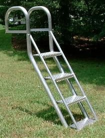 Aqua Stairs Boat And Dock Ladder For Dogs (and Their Owners!)