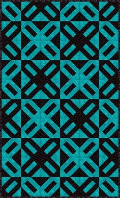Use my easy Cracker quilt pattern to make a colorful patchwork quilt with lots of design options.