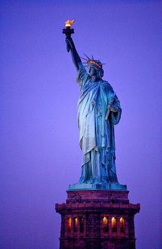 Statue of Liberty at Dawn, NYC