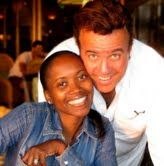Actress Erika Alexander & husband Tony Puryear