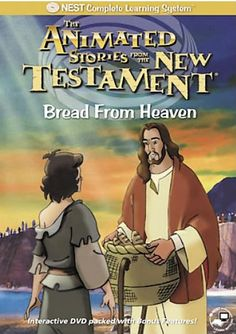Animated Stories from the Bible: Bread From Heaven - Christian Movie/Film on DVD. http://www.christianfilmdatabase.com/review/animated-stories-from-the-bible-new-testament-bread-from-heaven-nest/