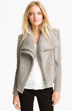 IRO Draped Collar Knit Jacket