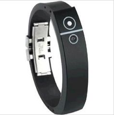 Bluetooth Silicon Bracelet - connects to your iPhone & Android phones.