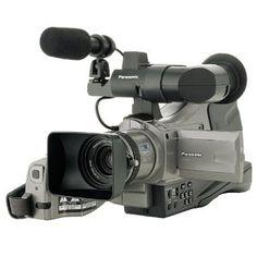 Black Friday 2014 Panasonic Pro MiniDV Proline Camcorder Optical Zoom from Panasonic Cyber Monday Video Camera, Camera Lens, Microphone Images, Black Friday Specials, Best Black Friday, Zoom Lens, Photography Equipment, Camcorder, Film Photography
