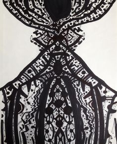 Brian Lucas - The Incandescent Switch - 2011  14 x 11 inches  pen on paper