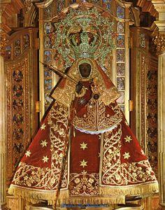 Virgen de Guadalupe.Real Monasterio de Santa María de Guadalupe, Caceres, Estremadura, España