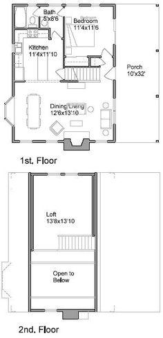 Small Cabin 980 sf