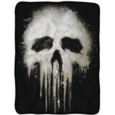 Punisher Skull Fleece Throw Blanket - DreamZone World