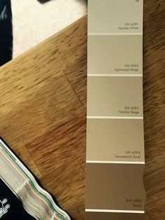 Choosing a two-tone paint job for the room.  Never tried this before. Hope it works.