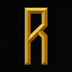 One custom letter a day - R