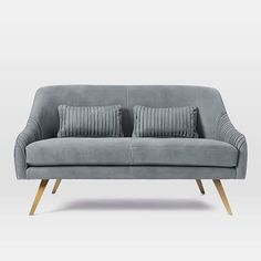 Roar + Rabbit Glamour Leather Sofa | west elm