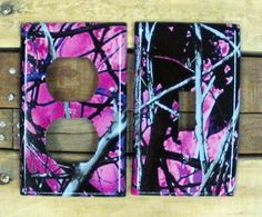 Muddy Girl Camo Light Switch/Outlet Covers - $6.50 each