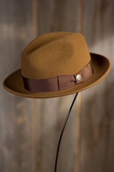 2666d388a2b Dean the Butcher Goorin Brothers Wool Fedora Hat by Overland Sheepskin Co.