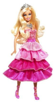 Barbie Sparkle Lights Pink Princess Doll by Mattel. $25.00. Girls will sure to love this doll. Watch her shoes, belt, and necklace light up. A sparkling fun time. Get ready to shine bright. Just press her necklace and see her shine. From the Manufacturer                Barbie Sparkle Lights Pink Princess Doll Assortment: Get ready to shine bright. A Barbie princess rules her kingdom with beauty and brains, style and substance seeking adventures that take her from pink ...