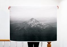 Mount Hood  36x48 Plotter Poster by stevenbeckly on Etsy, $50.00