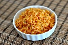 Seemingly simple, I've been on the search for a quick and easy Mexican rice dish to serve with fajitas, tacos, and other zesty Mexican-inspired dishes for a long time. This is the one. It comes together in no time which makes me thrilled since I can't bring myself to spend hours on a side dish. And
