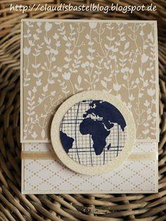 Eine Geld-/Gutscheinkarte zur Hochzeit... gewerkelt mit dem schönen SU Designerpapier Trau dich.