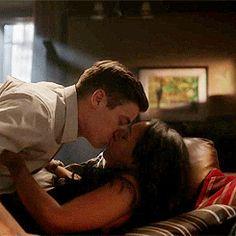 What a kiss Romantic Kiss Gif, Romantic Love, Romantic Couples, Love Amor, Love Kiss, Love Couple, Couple Goals, Romance And Love, Interracial Couples