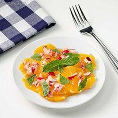 Marokkanische Orange und Rettich-Salat