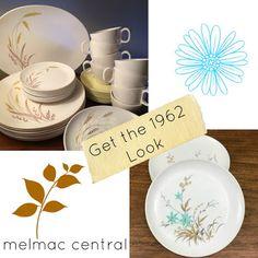Vintage Plastic Melmac Dinnerware History Melamine : Melmac Dinnerware 1962 Christmas Department Stores...