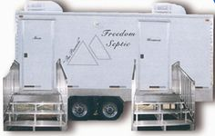 Restroom Trailers and Portable Toilets   Freedom Septic in Howard County