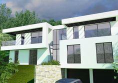 Villa d'un particulier, réalisée en partenariat avec l'agence d'architecture et de maîtrise d'oeuvre Joannet & Lebreton  #architecture #house #france #3d #colibristudio