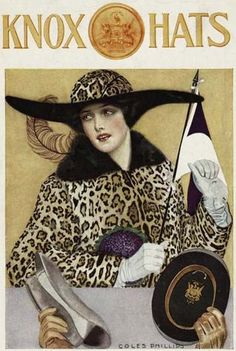knox hats coles phillips 1913 by Captain Geoffrey Spaulding, via Flickr