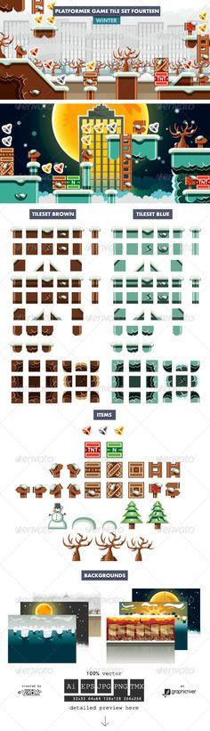 +Platformer+Game+Tile+Set+Fourteen