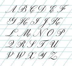 - Page 47 - Pointed Pen Calligraphy Alphabet A, Hand Lettering Alphabet, Alphabet Worksheets, Cursive Letters, Script Lettering, Copperplate Calligraphy, How To Write Calligraphy, Calligraphy Tutorial, Lettering Tutorial