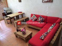 Pallet divano ~ Divani pallet mobili con pallet lazzarella pinterest