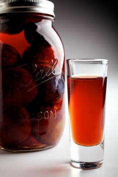 Slivovitz - Go international with this traditional Eastern European drink using seasonal plums. #sweet #dessert