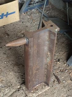 Just Joined the Forum by Tcds - I finally joined the forum after subscribing to the emails for over a year.Here is a picture of my Railroad anvil I made. I have a few other metal related projects I have built that I will post later.